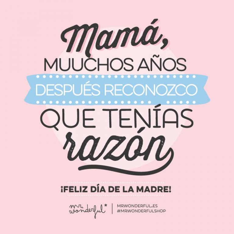 ¡Felicidades mamás!