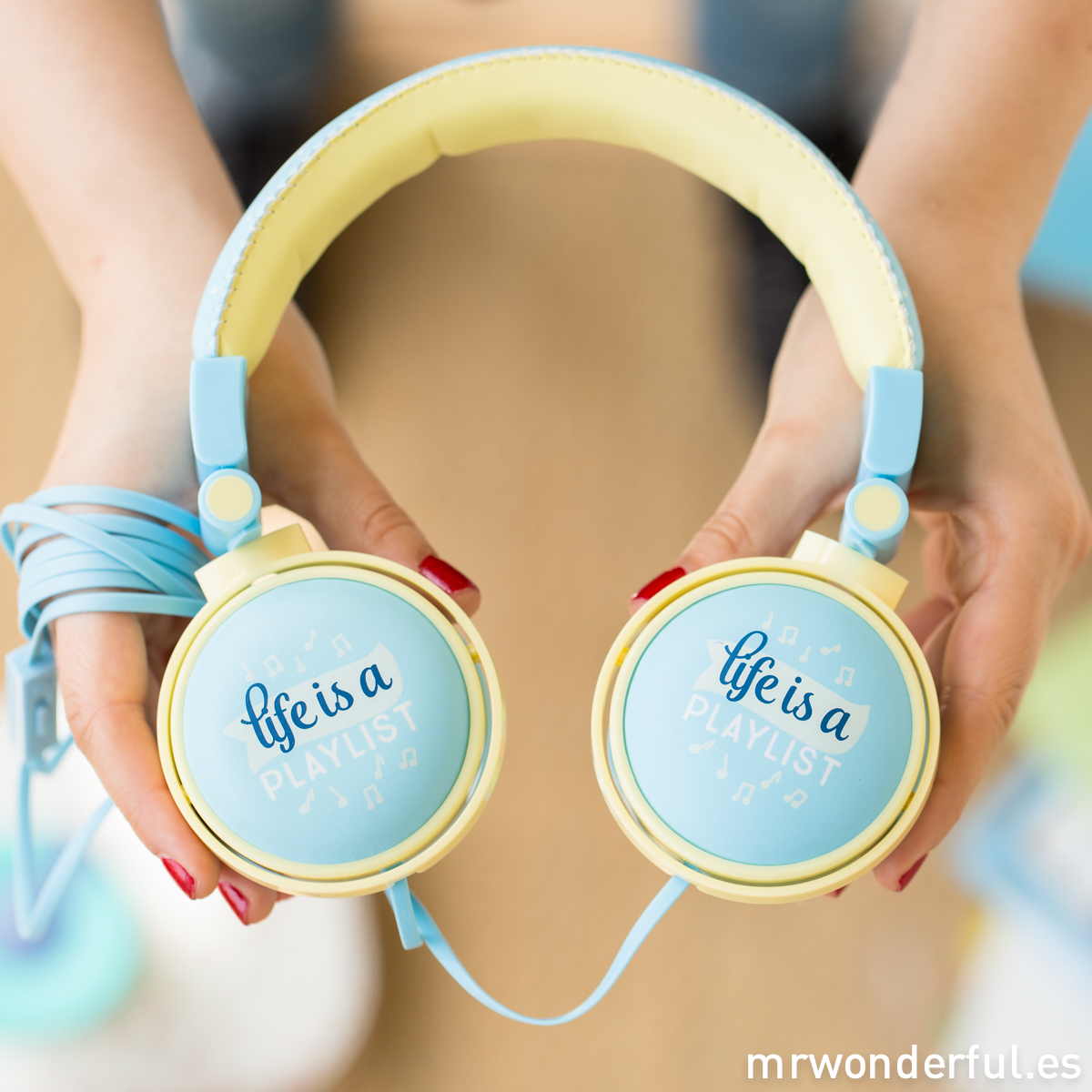 Auriculares wonder - Life is a playlist