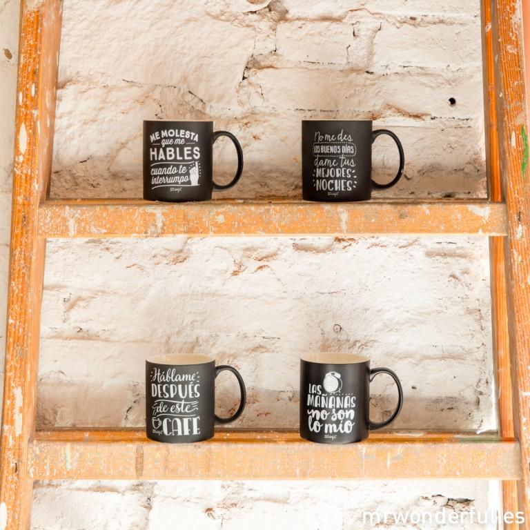 Tenemos unas nuevas tazas para los que no les gusta madrugar