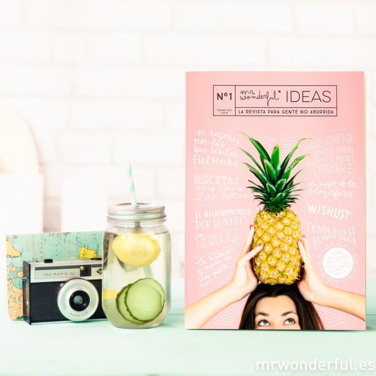 ¡Extra, extra! Nuestra primera revista en papel, Mr. Wonderful Ideas #1 ya está aquí