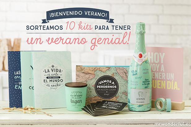 Sorteo – Brinda por la llegada del verano con una botella de Anna de Codorníu Sweet edition y un lote de productos Mr. Wonderful