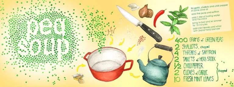 They Draw & Cook: un proyecto que junta ilustración y cocina con mucho arte