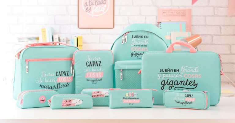 ¡Ya están aquí! Nuevas mochilas, bolsas, monederos y neceseres