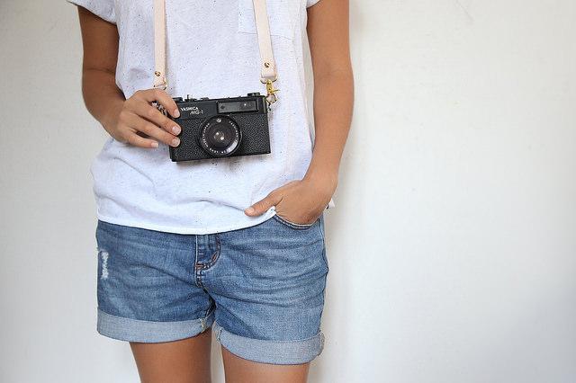 Un DIY para los amantes de la fotografía: una correa para tu cámara