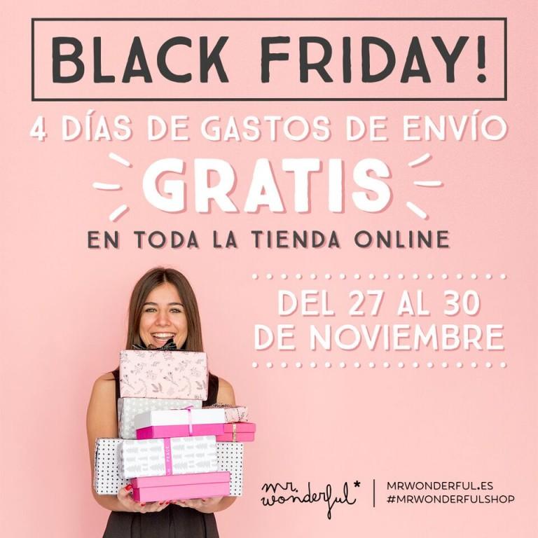 Bendito Black Friday y sus gastos de envío gratis en la tienda online