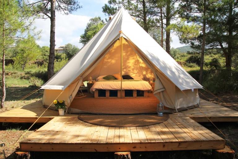 Ir de glampling, que no de camping, a Forest Days: la mejor manera de desconectar y descansar