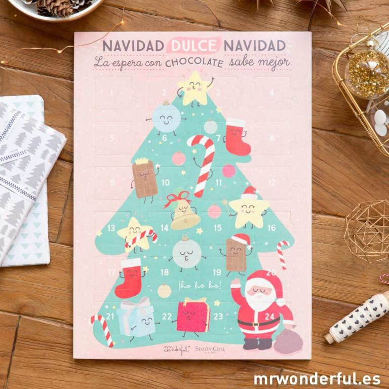 Nuevo Calendario de Adviento para esperar la navidad. Además de Power Banks y portatodo y libretas de Lovely Streets