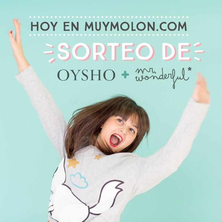 Alucina con este sorteo de Mr. Wonderful + Oysho y gana un pijama rebonito