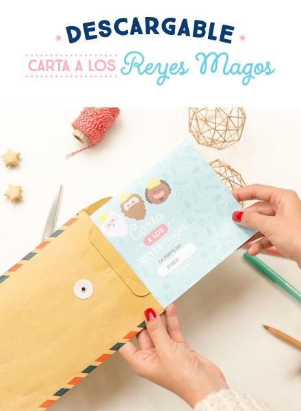 Descargable: Carta a los Reyes Magos para llenarla con todos tus deseos!