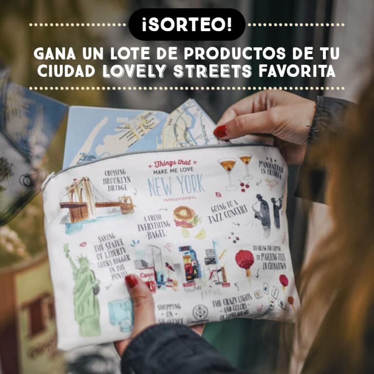 Pedazo de sorteo aventurero tenemos hoy con Lovely Streets