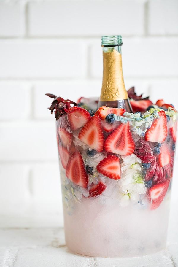 La nueva tendencia para fiestas va sobre hielo