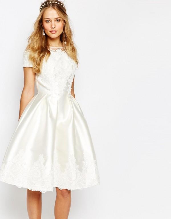 Vestidos de novia para bodas sencillas y bonitas