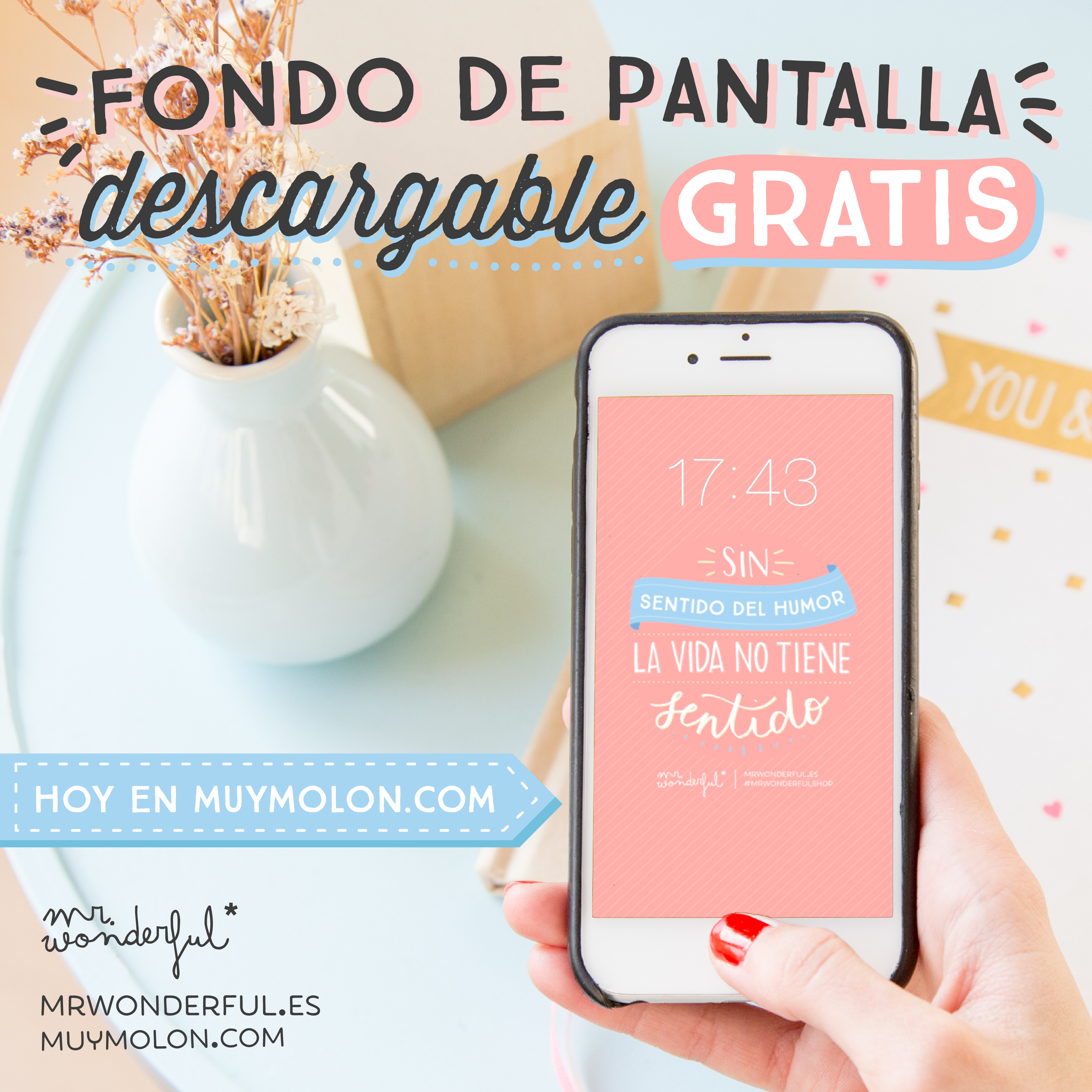 Ya est aqu el descargable para ordenador tablet y m vil Fondos movil mr wonderful
