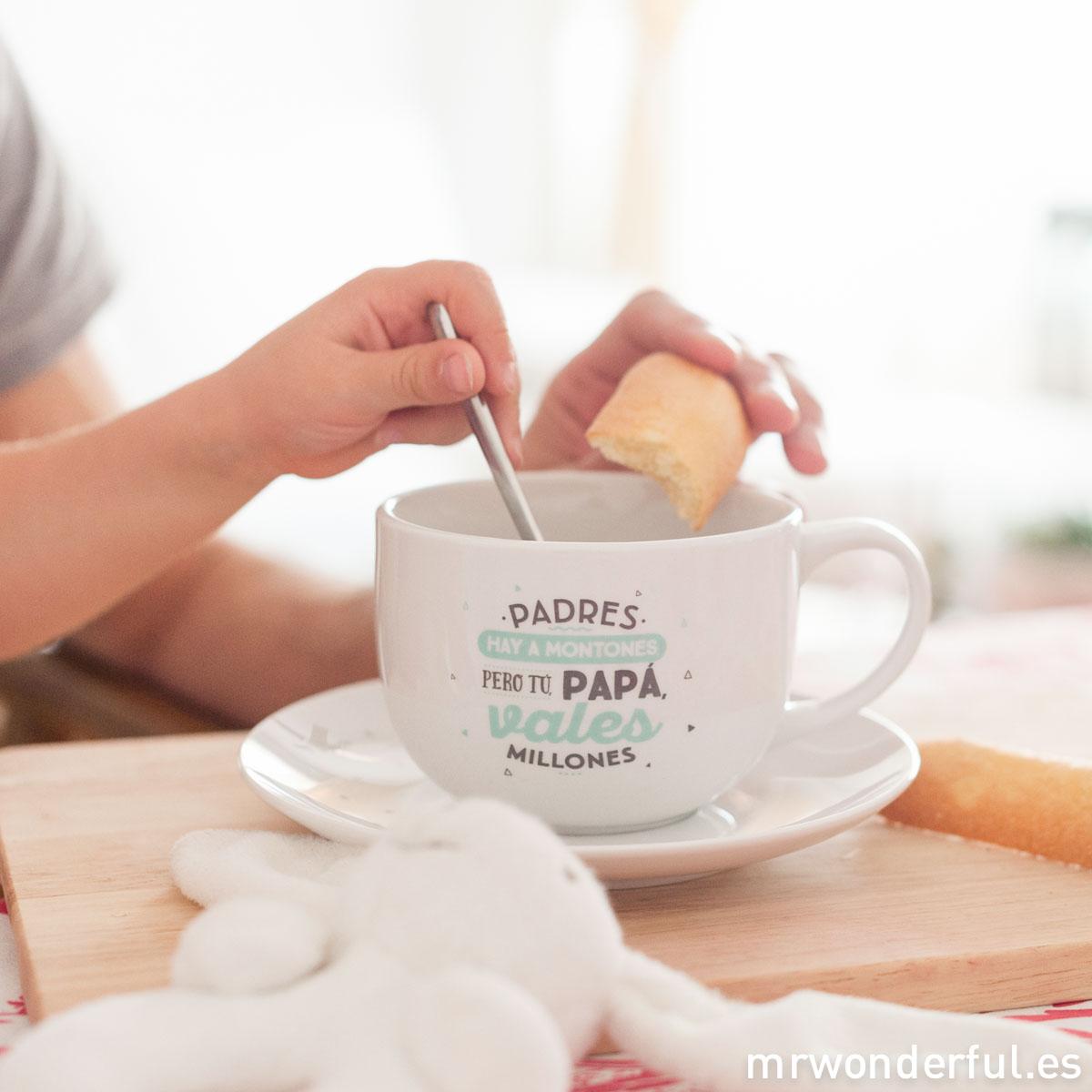 mrwonderful-taza-y-plato-padres-hay-a-montones-pero-tu-papa