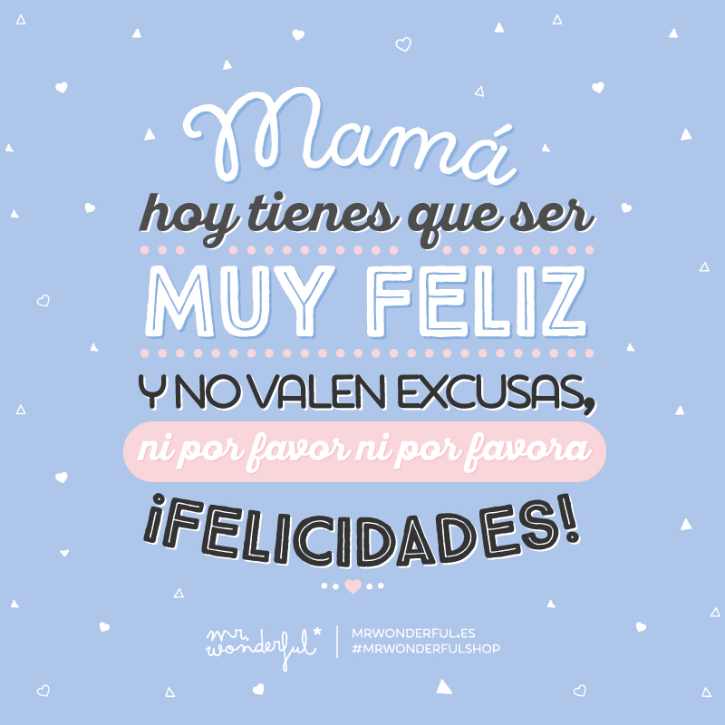 Día de la Madre Mr Wonderful