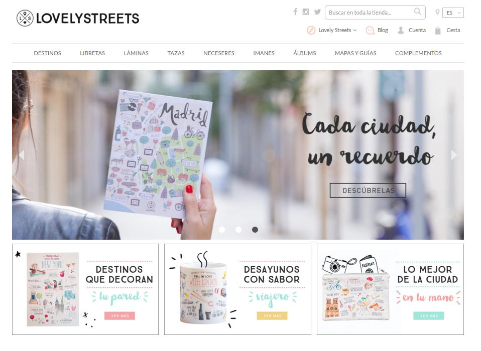 Estamos requetecontentos de anunciar que ¡Lovely Streets ya tiene tienda on-line y viene con sorpresa!
