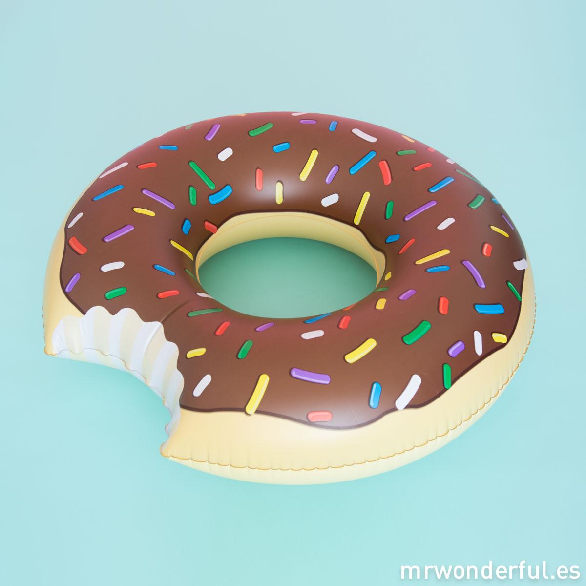 mrwonderful_PRA02918_flotador-hinchable_donut-chocolate-1-Editar