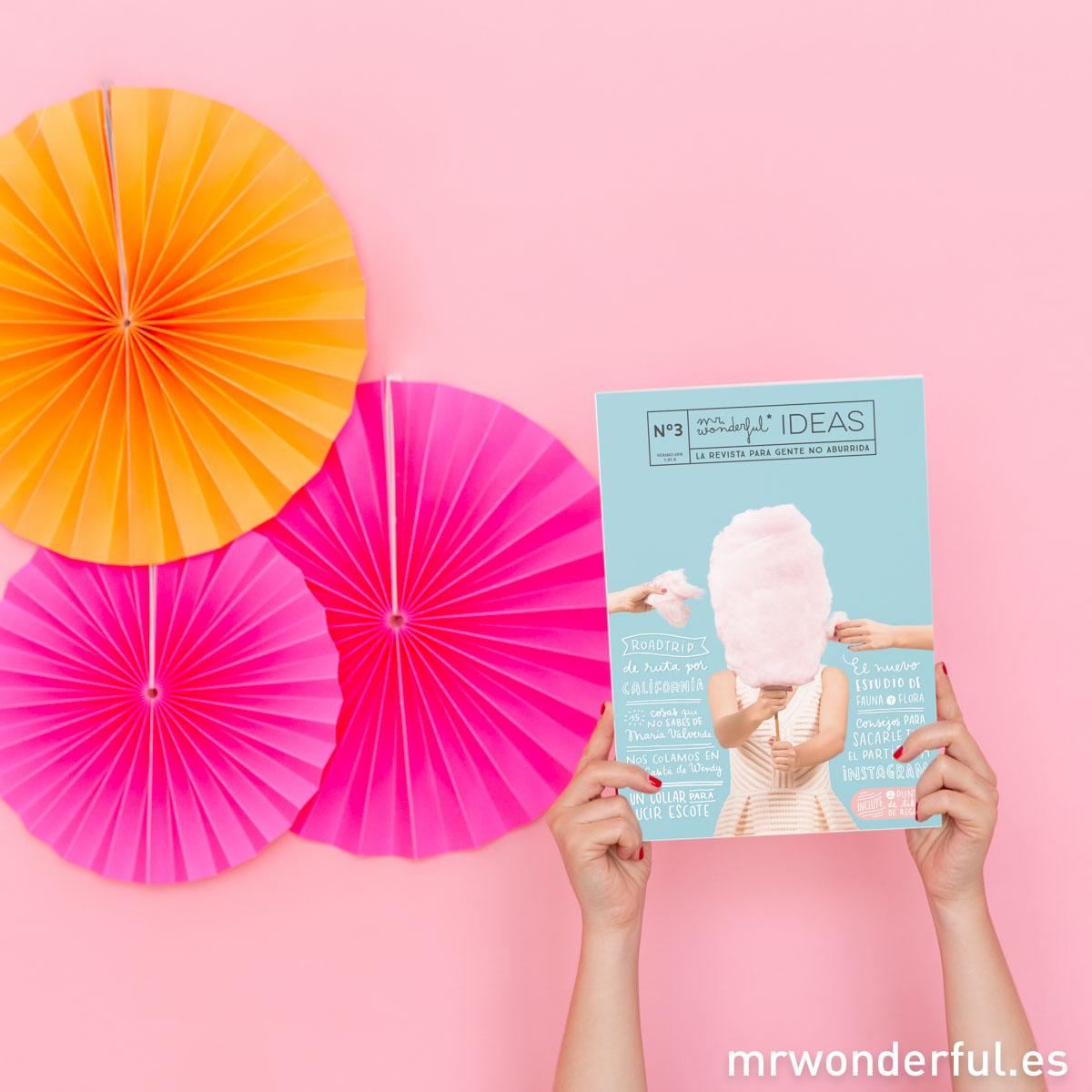 El verano trae cosas geniales y una de ellas es ¡el tercer número de nuestra revista Mr. Wonderful IDEAS!