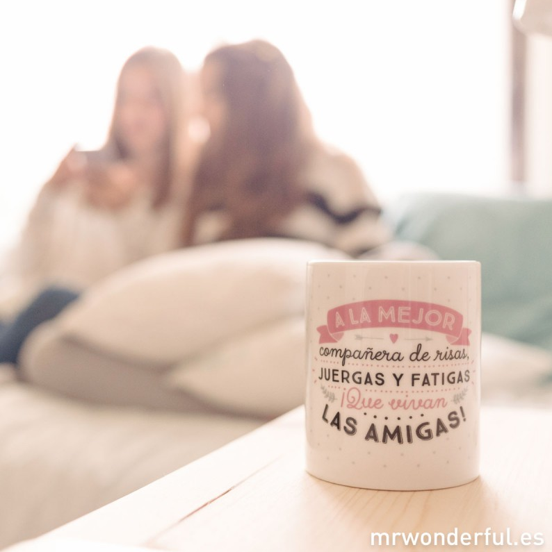 taza amigas mr wonderful