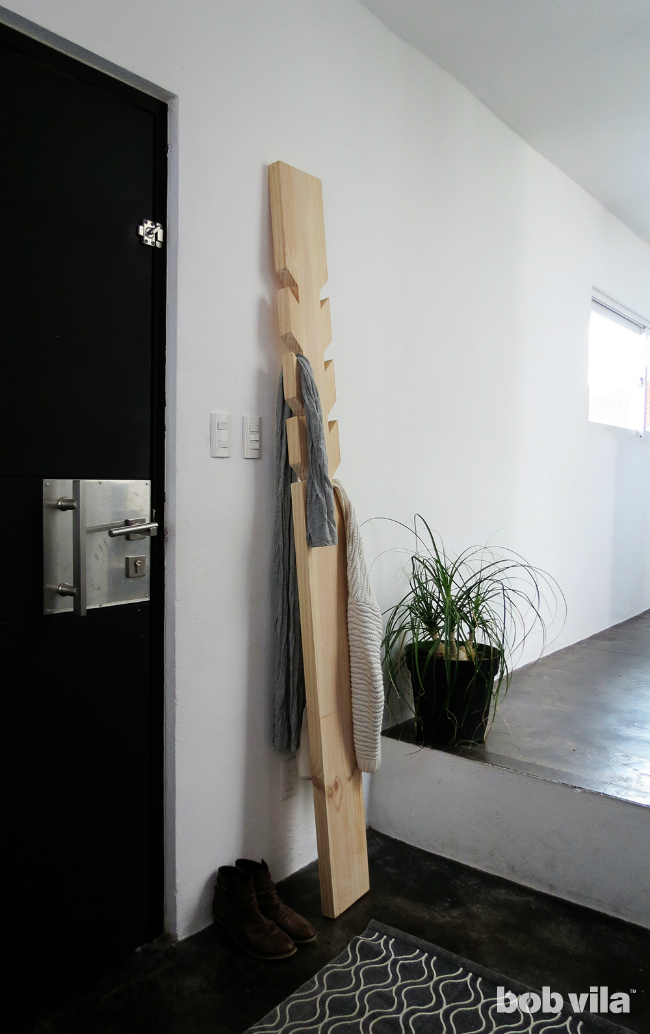 DIYCoatRack_CompletedProject
