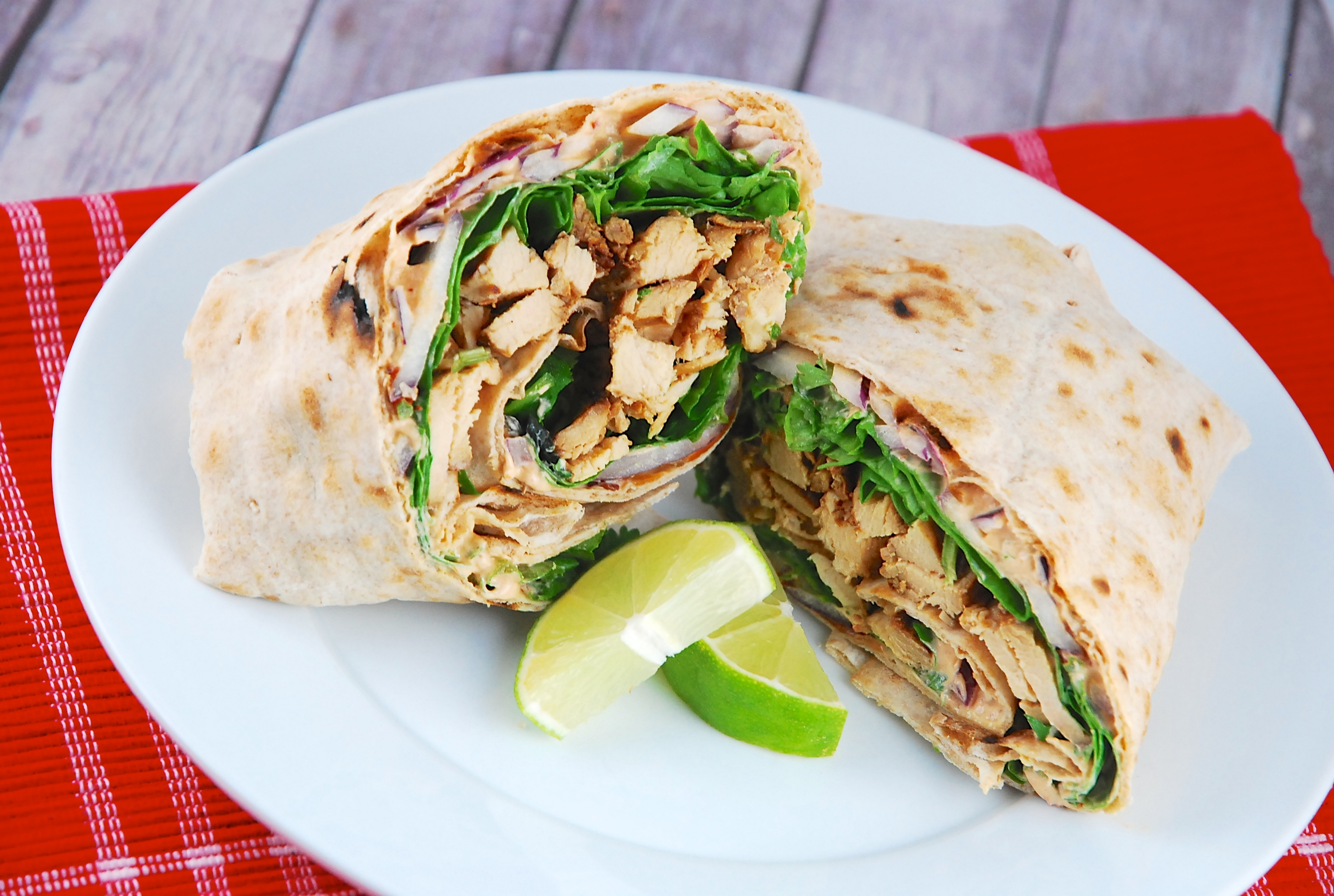 chipotle-lime-chicken-wrap