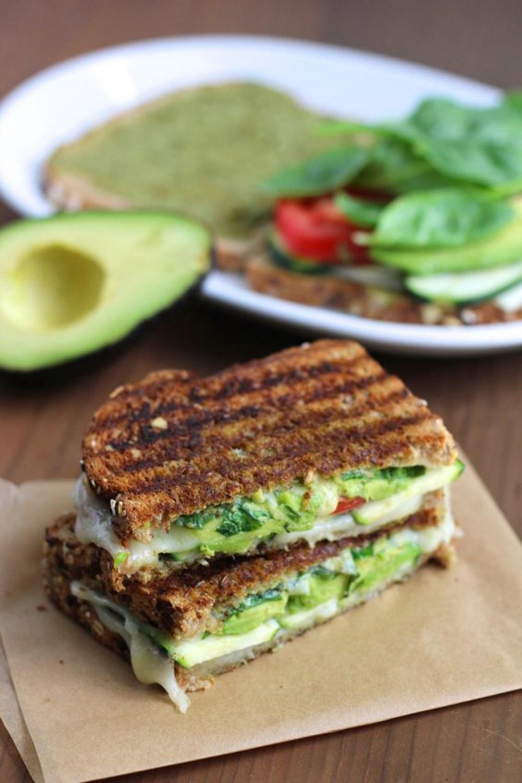 sandwich aguacate