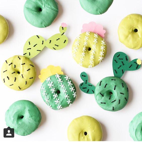 donuts cactus