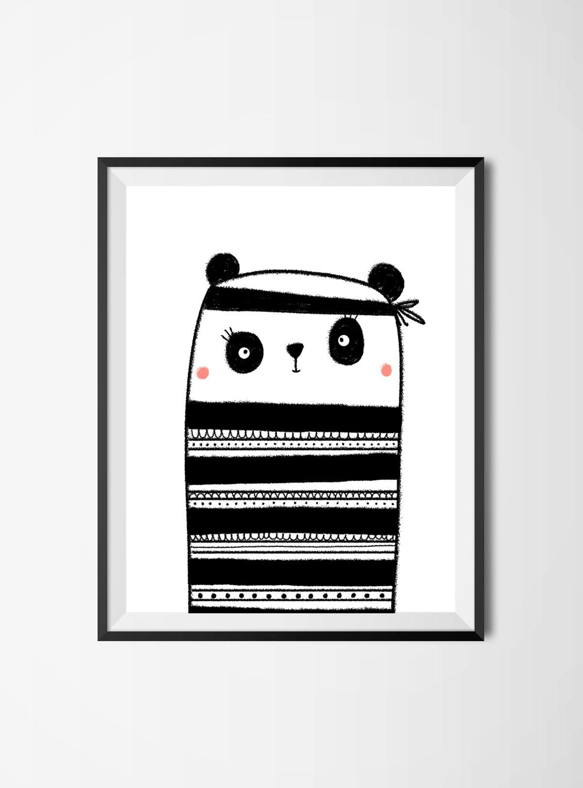 lamina-ilustrada-panda-bandide-adventures-2