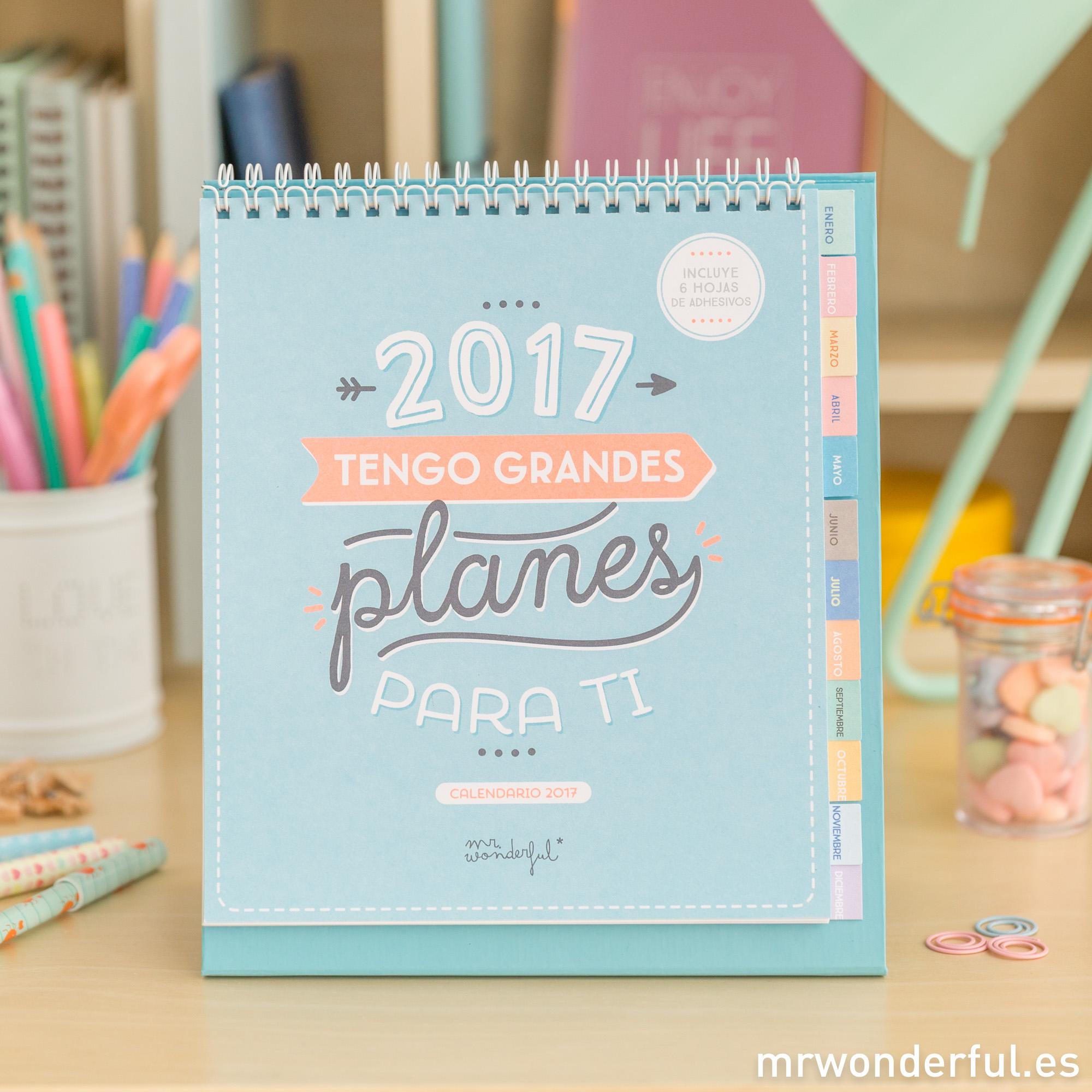mrwonderful_8435460708296_WOA03740ES_Calendario-2017-tengo-grandes-planes_ES-1