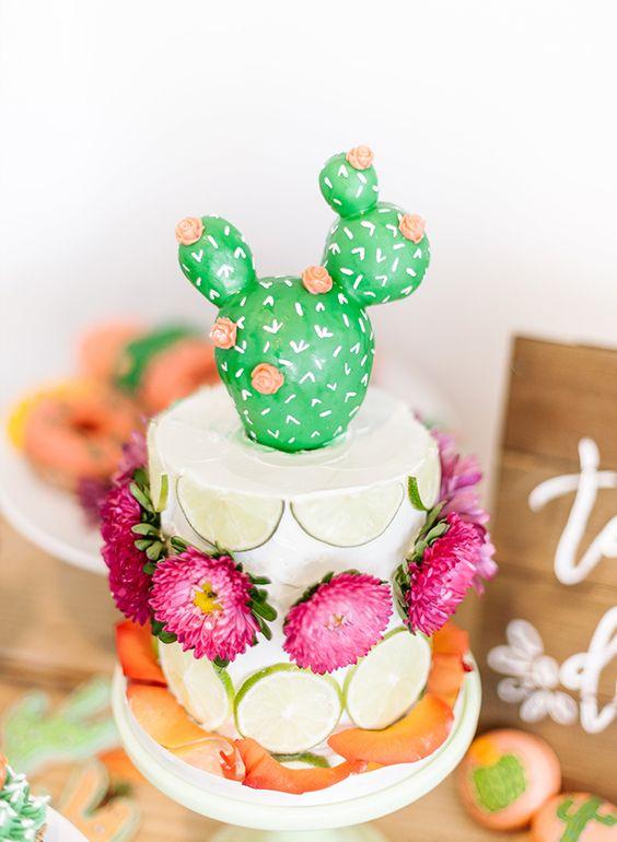 pastel boda cactus 14