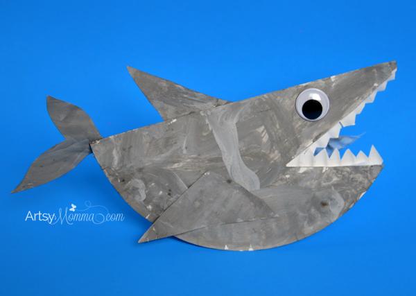 Rockin-Paper-Plate-Shark