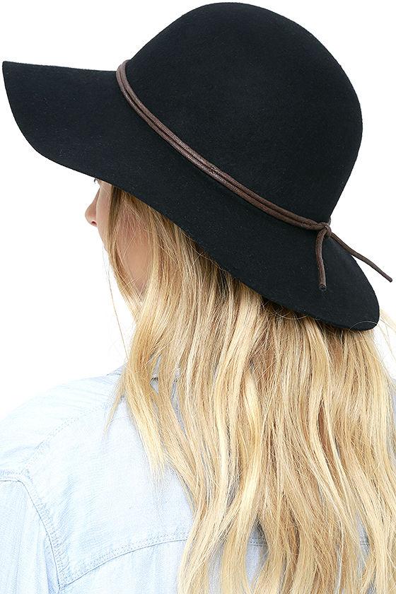 floppy hat lulus negro