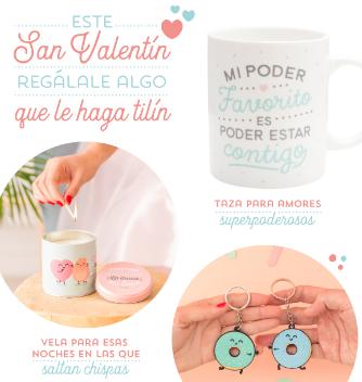 Este San Valentín ¡regálale algo que le haga tilín!