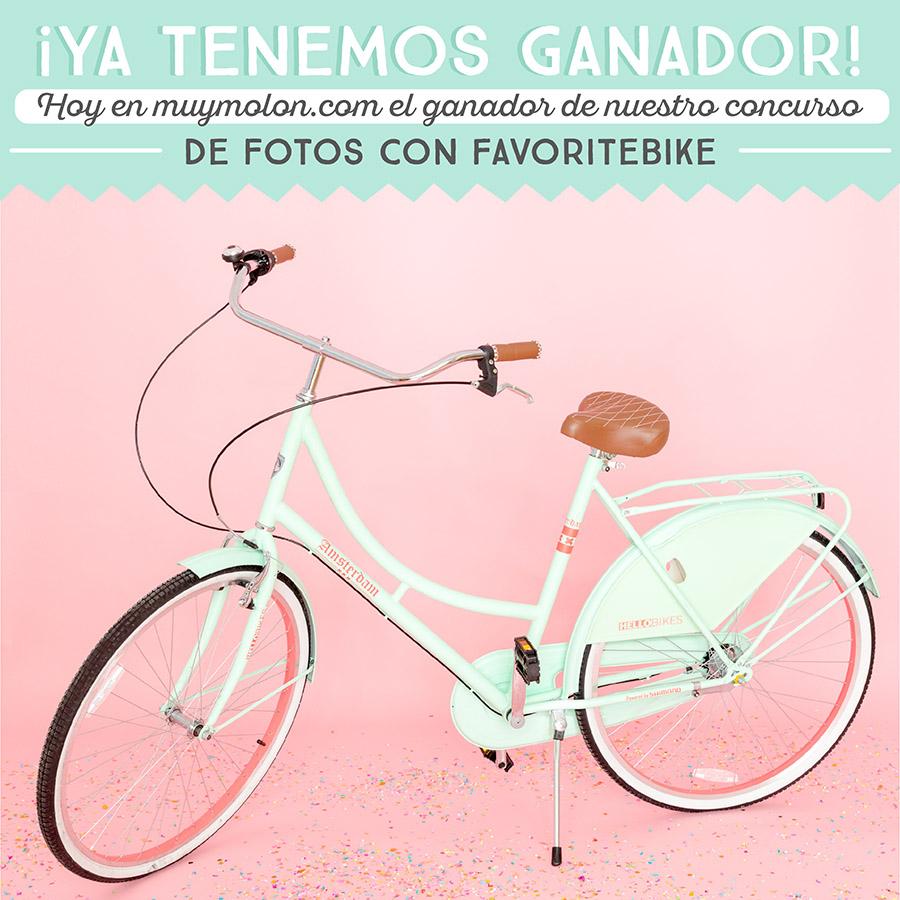 ¡Ya tenemos ganador del concurso de fotos con Favoritebike!