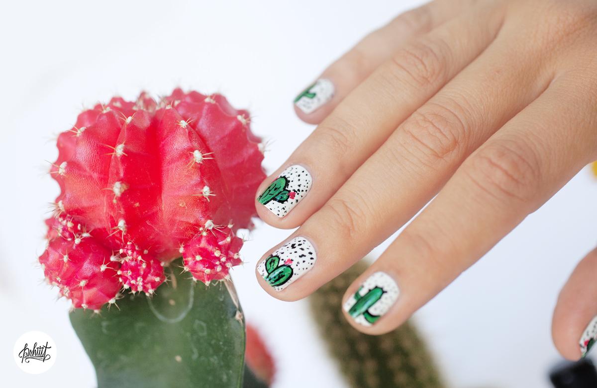 cactus-nailart
