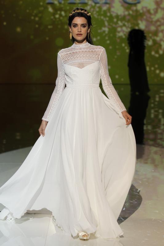 ¿Buscas vestidazo de novia? Te enseñamos los que más nos gustaron de la Barcelona Bridal Fashion Week 2017