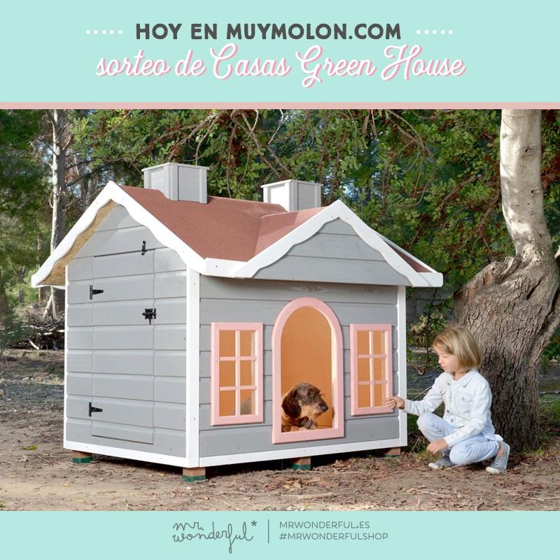 ¡GUAU! ¡Aquí huele a sorteo! Gana una casa la mar de perruna con casas Greenhouse