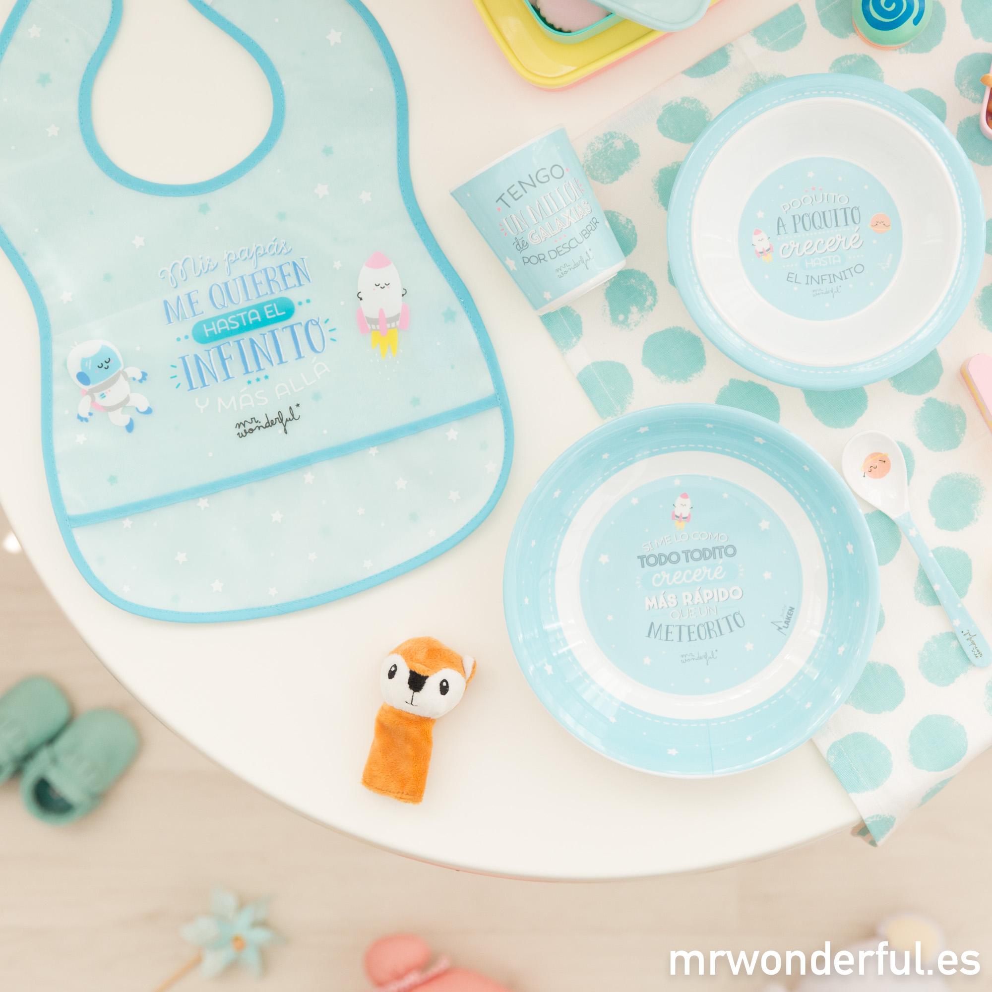 ¡Menuda locura! Productos Mr. Wonderful de puericultura que son una ricura