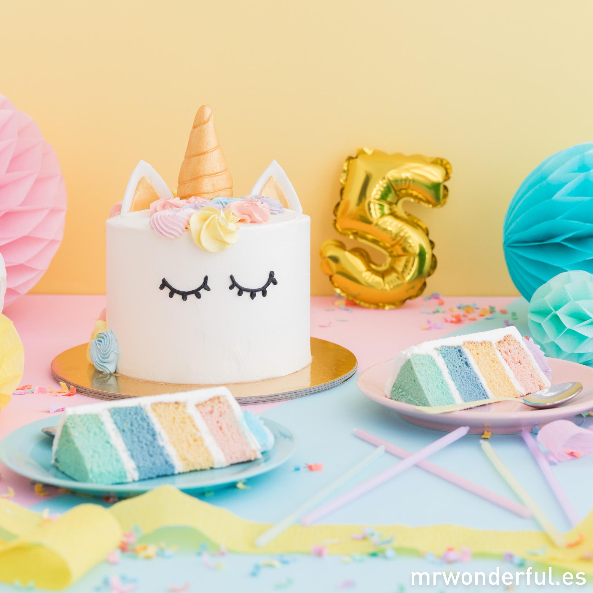 Pastel de unicornio de Lolita Bakery