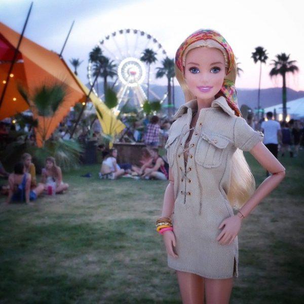 Os vários estilos da Barbie