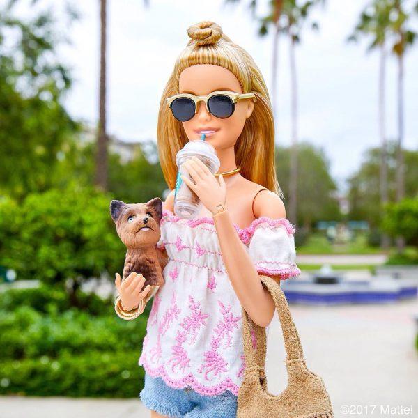 Instagram criativo de uma Barbie