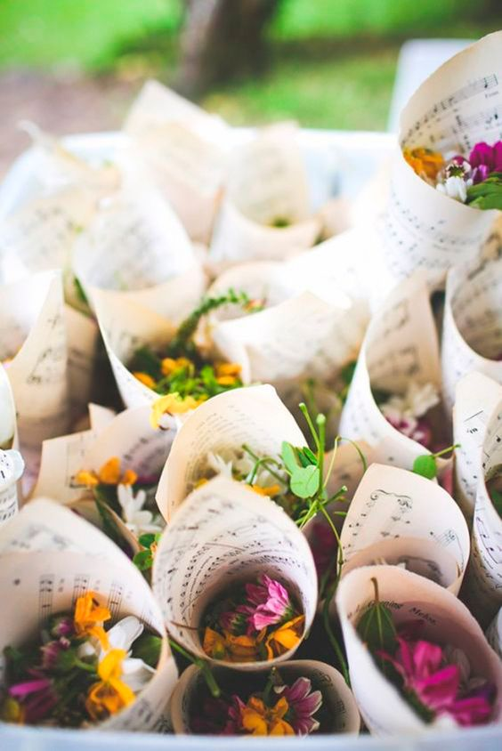 cucurucho para bodas