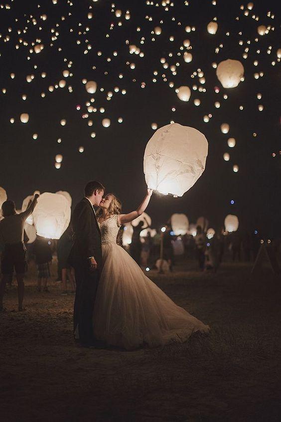farolillos para bodas