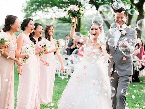 burbujas para bodas