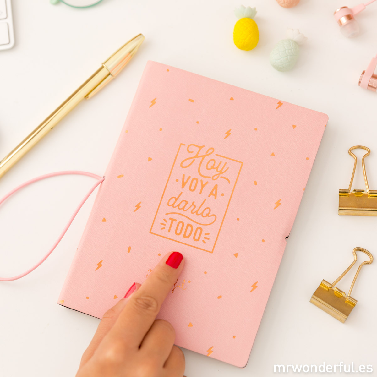 Libretas originales Mr Wonderful
