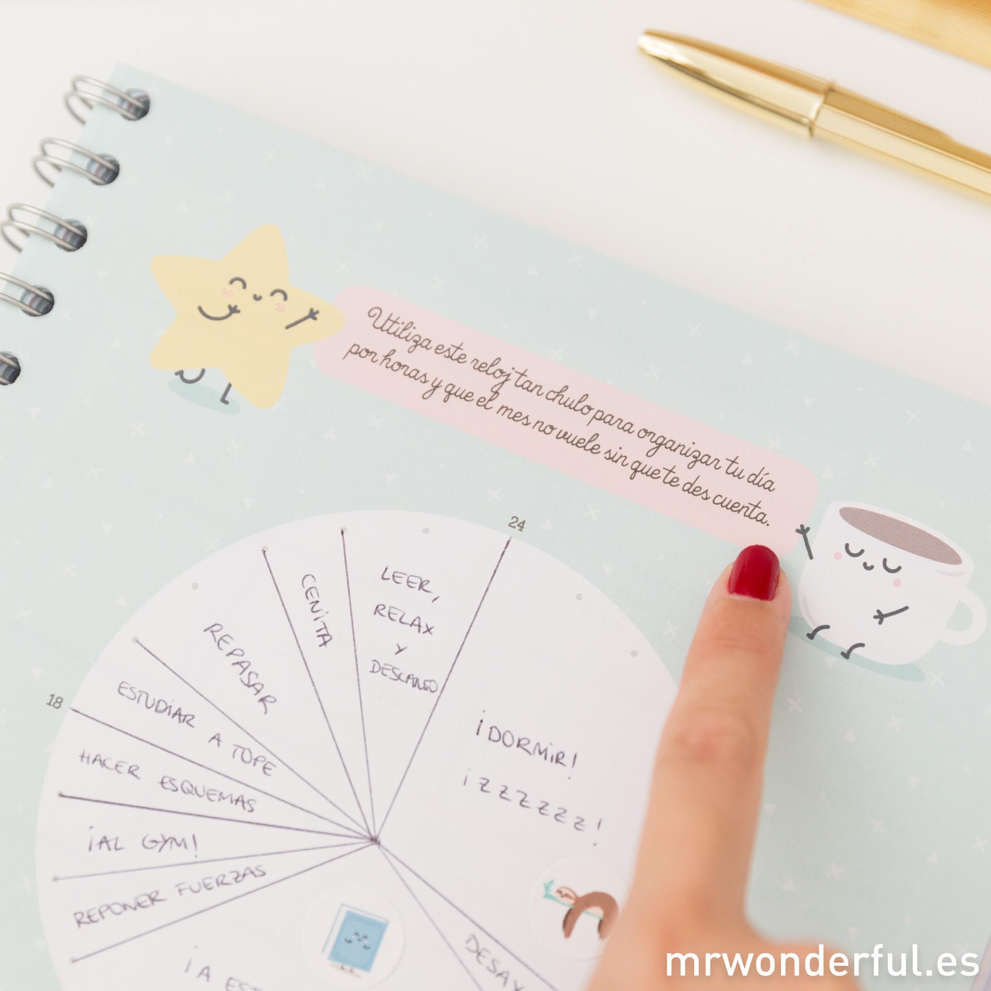 Planificar el día a día para estudiar mejor
