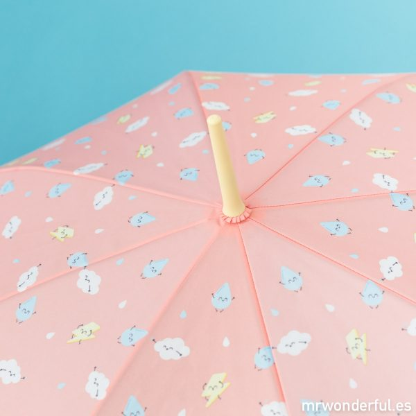 Estampado de gotas, rayos y nubes de Mr. Wonderful