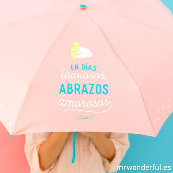 Detalle de paraguas de Mr. Wonderful