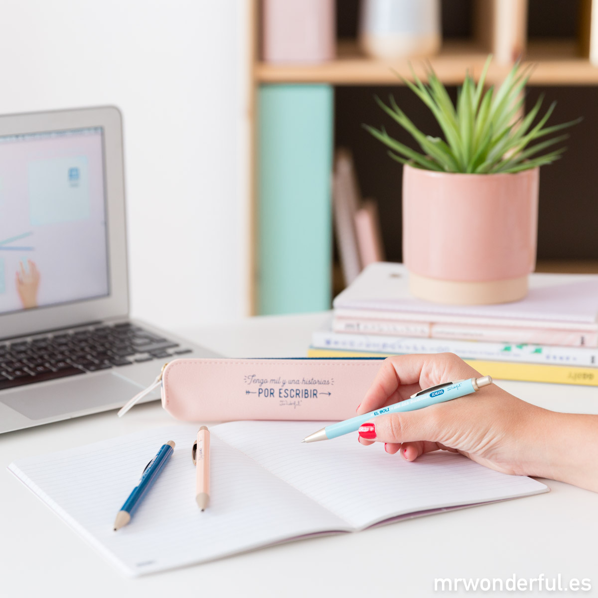 Productos Mr. Wonderful para escribir