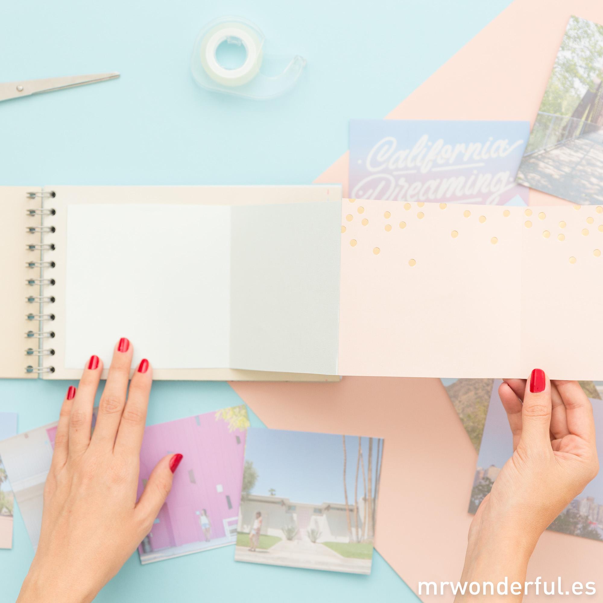 crear álbum de fotos